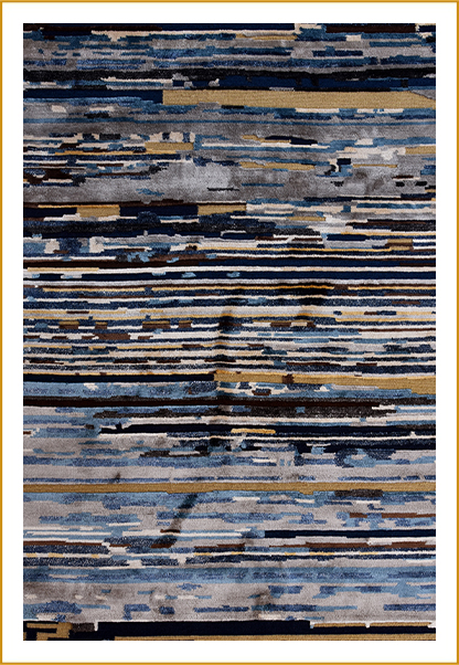 Hand Knotted Carpet ND-246558-BR-7040