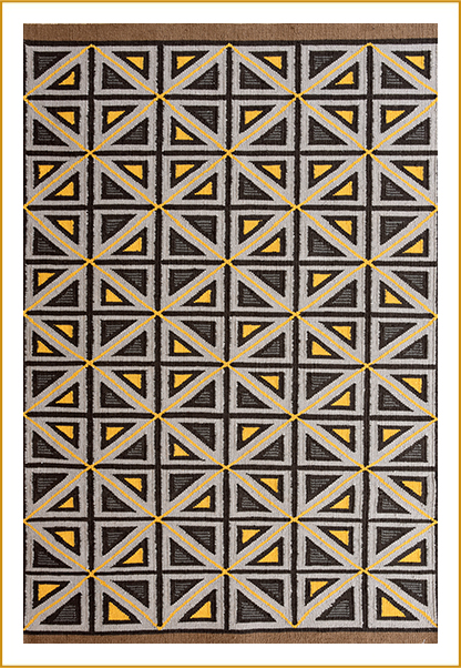 Hand Woven Carpets ND-246564 BR-7046