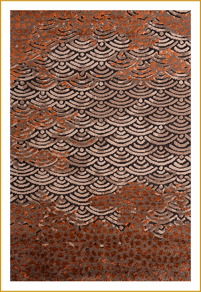 Hand Knotted Rug ND-246543 BR-7025