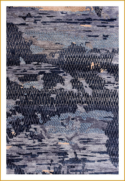 Hand Knotted Rugs ND-246559 BR-7041